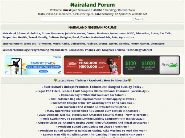 Online dating nairaland general